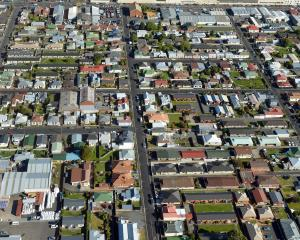 South Dunedin from above. PHOTO: ODT FILES