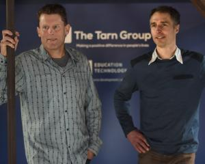 Steve Stanley (left) and James Nation, from The Tarn Group, are excited about the launch of a...