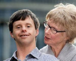 Tim Fairhall (left) and his mother Joan have won a change in KiwiSaver rules for people with life...