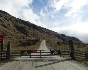 Now is the winter of our discontent. Treble Cone Ski Area's access road remains closed. Photo:...