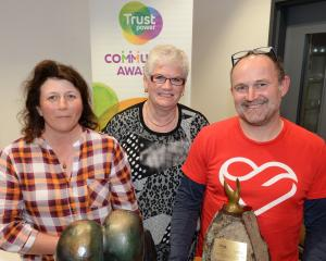 Trustpower has discontinued its community awards. The final Clutha and Dunedin supreme winners of...