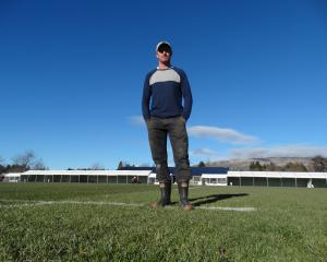 Wanaka Rugby Club captain Nathan Simon warns rain is expected when the club hosts tomorrow's...
