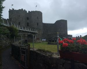 Harlech Castle. Photo: Dick Richardson