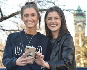 The ''Tasty Twinsss'' - University of Otago students (from left) Sophie and Emily Martin - now...