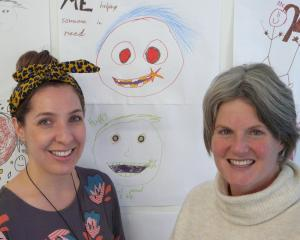 Project Bruce community development worker Kim Schiller (right), and Toko Hub co-ordinator Arna...
