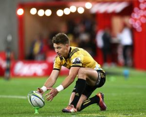 The Hurricanes are still exploring options to replace Beauden Barrett. Photo: Getty Images