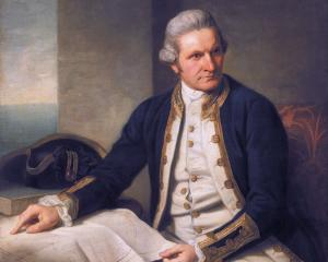 Captain James Cook. Photo: ODT files