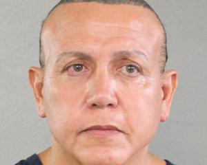 Cesar Altieri Sayoc is pictured in Ft. Lauderdale. Photo: Reuters via Broward County Sheriff's...