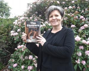Ruth Entwistle Low, of Timaru, says her book is a window into shearing. Photo: Chris Tobin