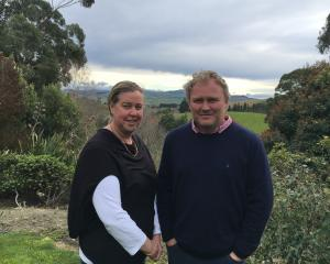 North Canterbury farmers Katrina and Chris Herbert are looking forward to the New Zealand...