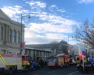 A 63-year-old Oamaru man has been admitted to Oamaru Hospital with serious injuries after receiving what is believed to have been an electric shock today. Photo: Daniel Birchfield