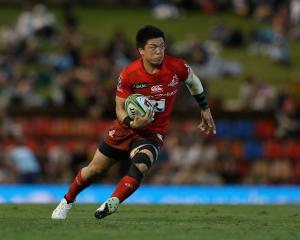 Harumichi Tatekawa in action for the Sunwolves. Photo: Getty Images