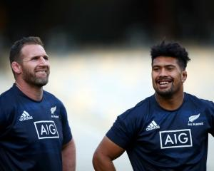 Kieran Read (left) and Ardie Savea will both be among the All Blacks loosies at the World Cup....