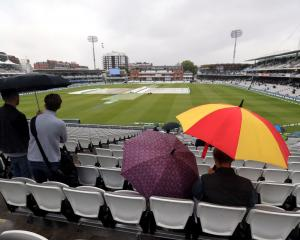 Day one of the second Ashes test was a wash out at Lord's. Photo: Getty Images