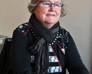 Retiring New Zealand nurses' union organiser Lorraine Lobb. PHOTO: LINDA ROBERTSON