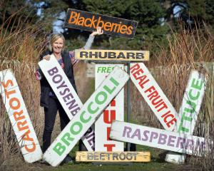 Kaye McArthur at McArthur's Berry Farm, which will be reopening soon with fresh produce from...