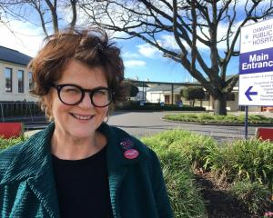 Public Service Association organiser Jen Wilson at Oamaru Hospital, where Allied Health and...