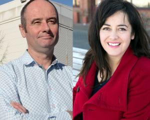 Mayoral candidates Jim O'Malley and Carmen Houlahan. Photos: Linda Robertson/Supplied