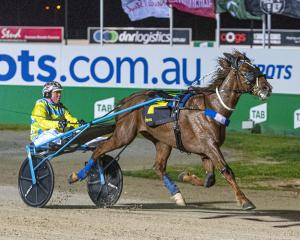 Ultimate Stride Australasian Breeders wins the 2yr-old colts and geldings' final for driver ...