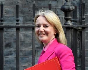 Britain's Secretary of State for International Trade Liz Truss is in New Zealand to discus a free...