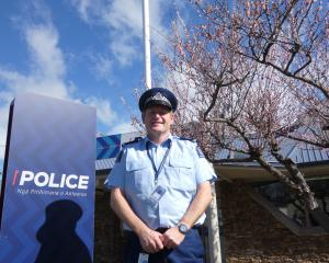 Central Otago sub-area supervisor Senior Sergeant Clint Wright, outside the Alexandra police...