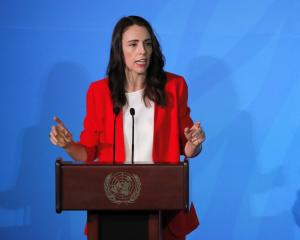 PM Jacinda Ardern at the 2019 United Nations Climate Action Summit at UN headquarters in New York...