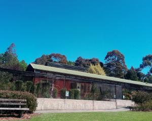 The aviary at Dunedin Botanic Gardens. Photo: Supplied