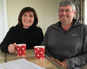 Lynne and Duncan Barr, of Ealing, Mid Canterbury, are looking forward to the season and being...