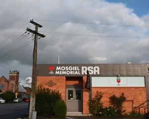 Money problems may force the sale of the Mosgiel RSA building. Photo: ODT files
