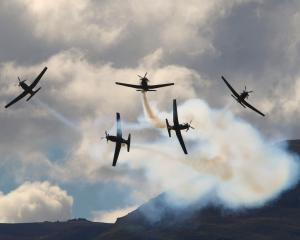 The Royal New Zealand Air Force is bringing its Beechcraft T-6C Texan II aircraft to Dunedin for...
