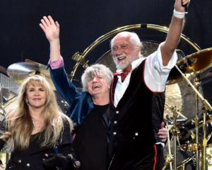 Fleetwood Mac are playing in Dunedin on Saturday night. Photo: Getty