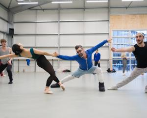 Royal New Zealand Ballet principal dancers Mayu Tanigaito and Massimo Margaria perform Artifact...
