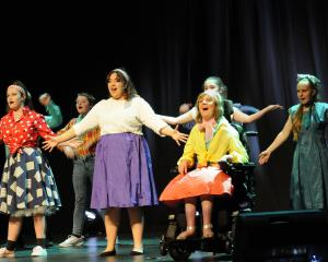 Rangiora's Hartley School of Performing Arts students, from left, front row, Zoe McKinlay-Clarke,...
