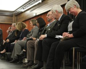 Invercargill City Council candidates at Grey Power's Meet the Candidates event in the city last...