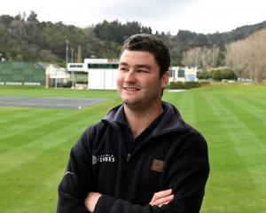 University of Otago Oval turf manager Jayden Tohill is embracing the challenge to prepare a first...