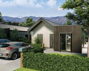 A Kiwibuild home for sale in Northlake. Photo: Supplied