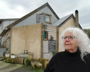 Fleur's Place owner Fleur Sullivan outside the Moeraki restaurant where thousands of dollars...