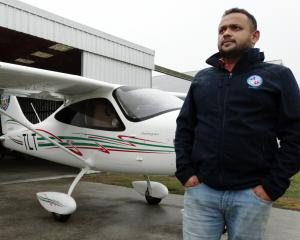 Oamaru-based New Zealand Air Academy chief flying instructor Celroy Mascarenhas says flying...
