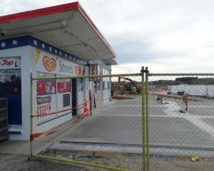 The Maheno site where fuel retailer Gull will open its first South Island site on October 2....