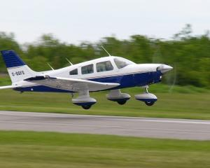 The Piper PA-28 Cherokee is a family of light aircraft that were designed for flight training, air taxi and personal use and are built by Piper Aircraft. They carry two to six persons. Photo: Wikipedia
