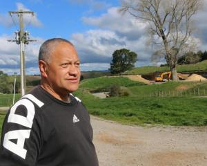 All of the work is completed under the eagle eye of their agricultural tutor Richard Te Whare,...