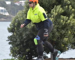 Inline skater, Annie Blakie, of Dunedin. Photo: Gerard O'Brien