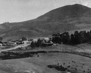 A general view of Fairfield and Saddle Hill from Abbotsford. - Otago Witness, 19.9.1919.