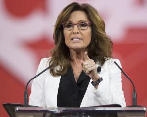 Sarah Palin was a nominee for vice president in 2008. Photo: Reuters