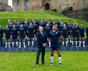 The Scotland Rugby World Cup squad. Photo: Getty Images