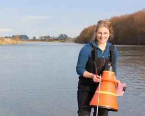 Grace Smith is an environmental technical officer with Environment Southland. Photo: Supplied