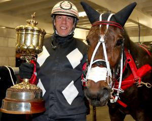 Driver John Dunn and Sundees Son made it five consecutive wins with victory in the group 3 Ordeal...
