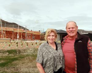 Shotover Country developers Sharyn and Grant Stalker. Photo: Mountain Scene