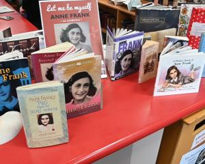 The Anne Frank exhibition is on display at Otago Girls' High School.
