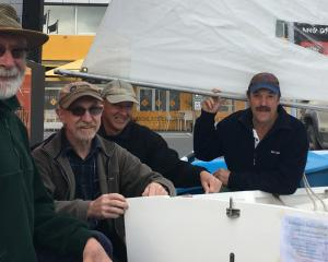 Ashburton Sailing Club members Selwyn Sloan, Chris Thompson, Chris Lovelock and Geoff Swan have,...